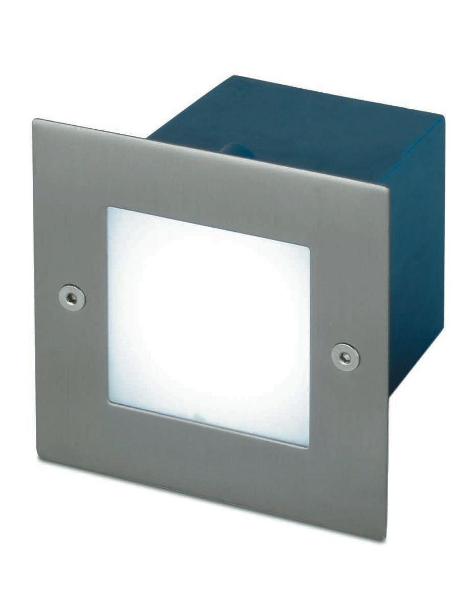 Luz peque a para empotrar con led jardin iluminacion - Iluminacion exterior led ...