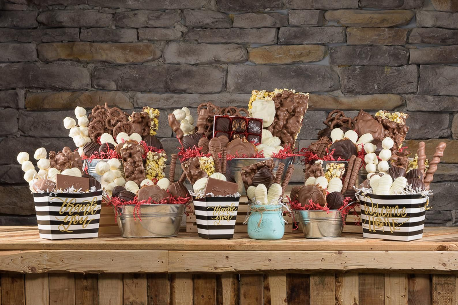 Chocolate gift baskets etsy chocolate gifts basket