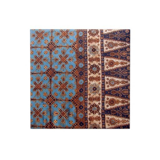 Indonesia Indonesian Java Javanese Ethnic Batik Ceramic Tile ...