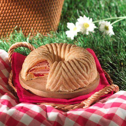 Nordic Ware Pro Cast Bavaria Bundt Pan 2 - (11oz) Refrigerated French Bread dough