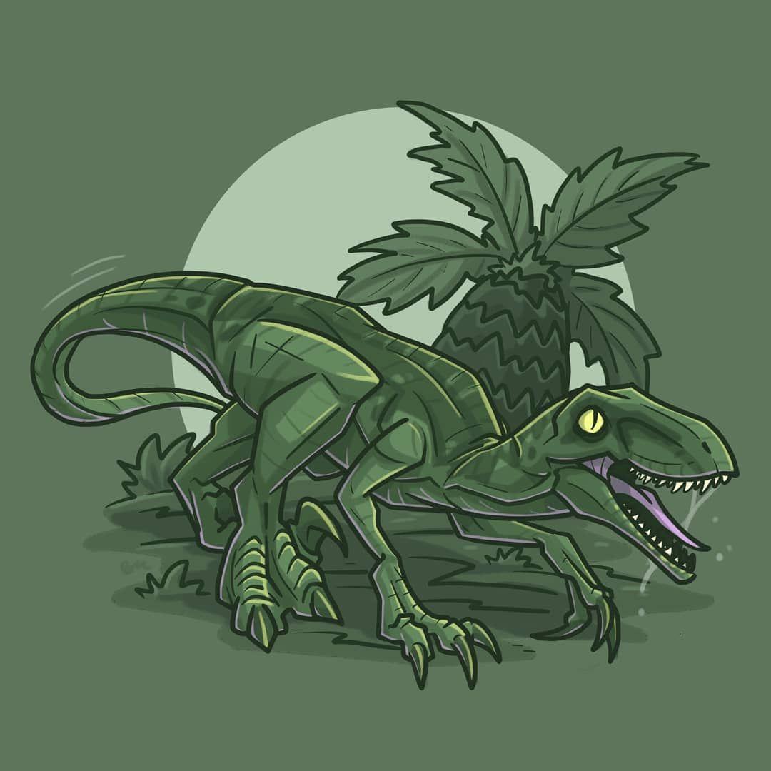 It S Day Eight Of Jurassicjune Today I Ve Illustrated: No Hay Descripción De La Foto Disponible.