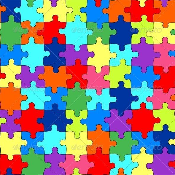 Puzzle Puzzle Art Puzzle Pieces Autism Awareness Colors