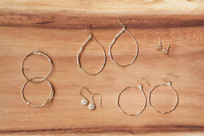 N+A New York earrings