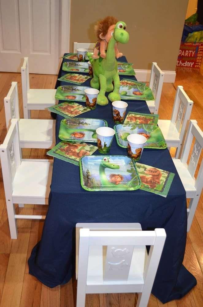 The Good Dinosaur Birthday Party Ideas Dinosaur birthday party
