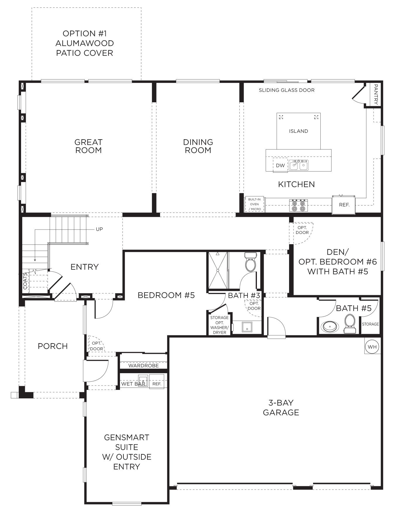 Find Your New Pardee Home Today House Floor Plans Floor Plans Pardee Homes