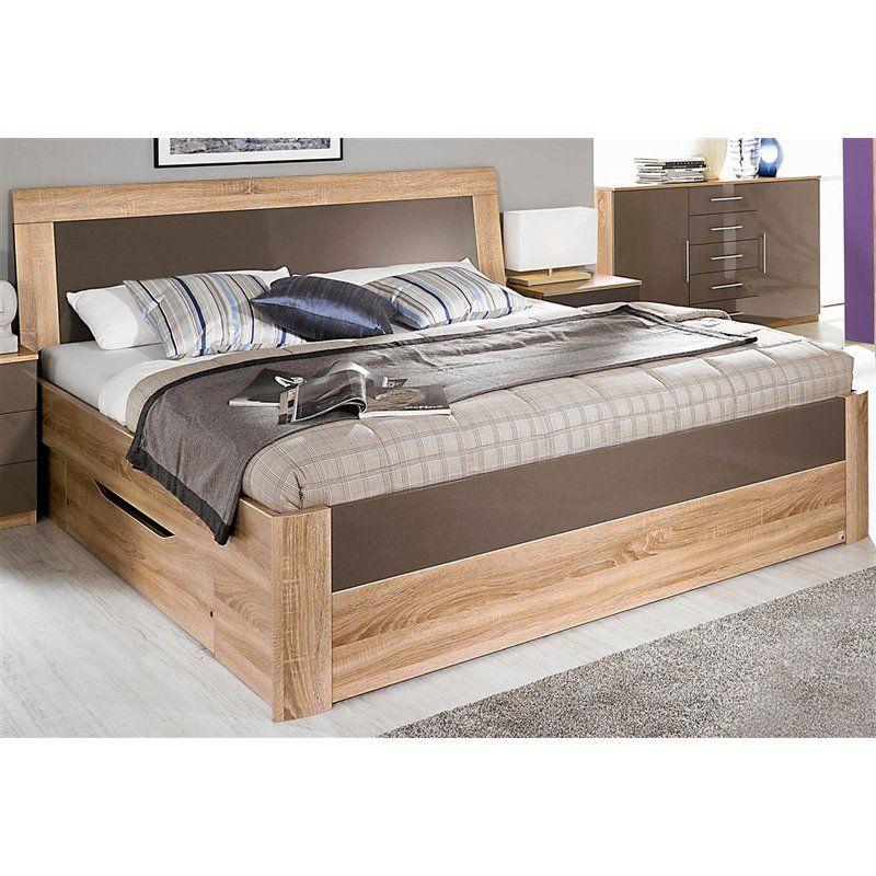 Lit 2 Personnes Tete De Lit 2 Tiroirs De Rangement Rauch Modern Bedroom Furniture Home Decor