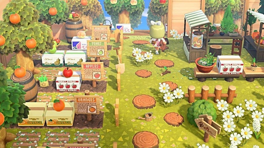 4 522 Likes 55 Comments Kristian Kenneth Acnh Designs Kristiancrossing On Instagram Fruit Fruit Animals Animal Crossing Wild World Animal Crossing Qr