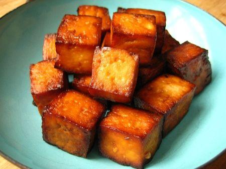recipe: baked tofu marinara sauce [34]