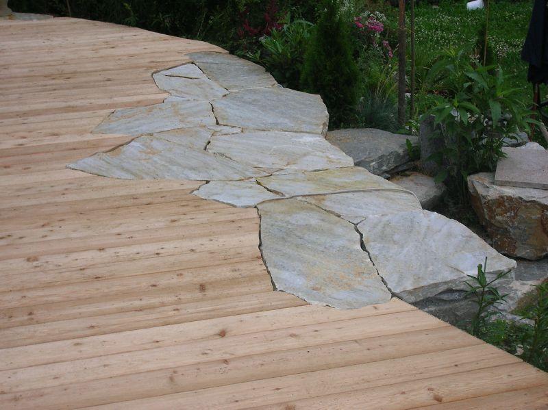 Holz im Garten - Landschaftsgärtner Erwin Wieland - Fazination Holz