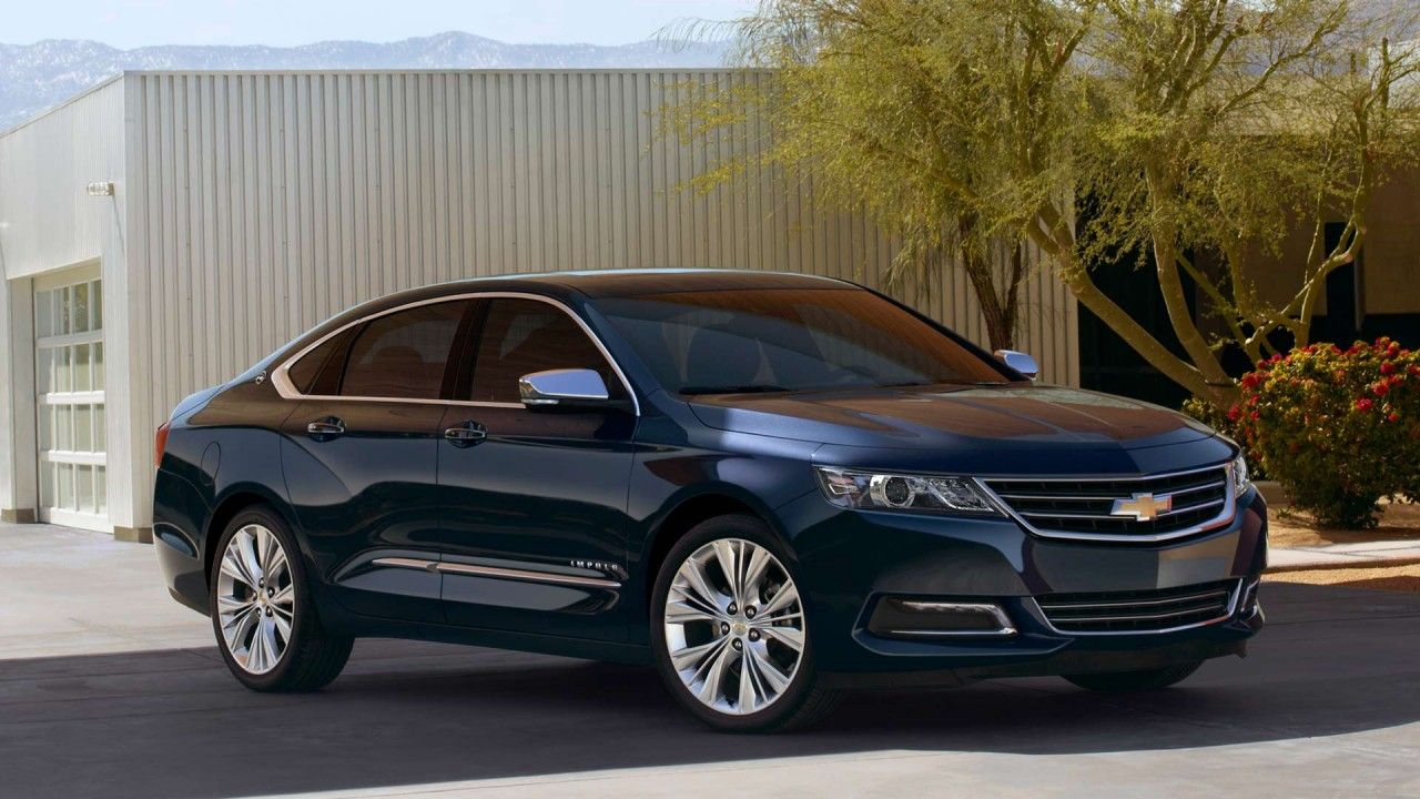 Full Size Car 2014 Impala Ltz In Blue Ray Metallic With Available