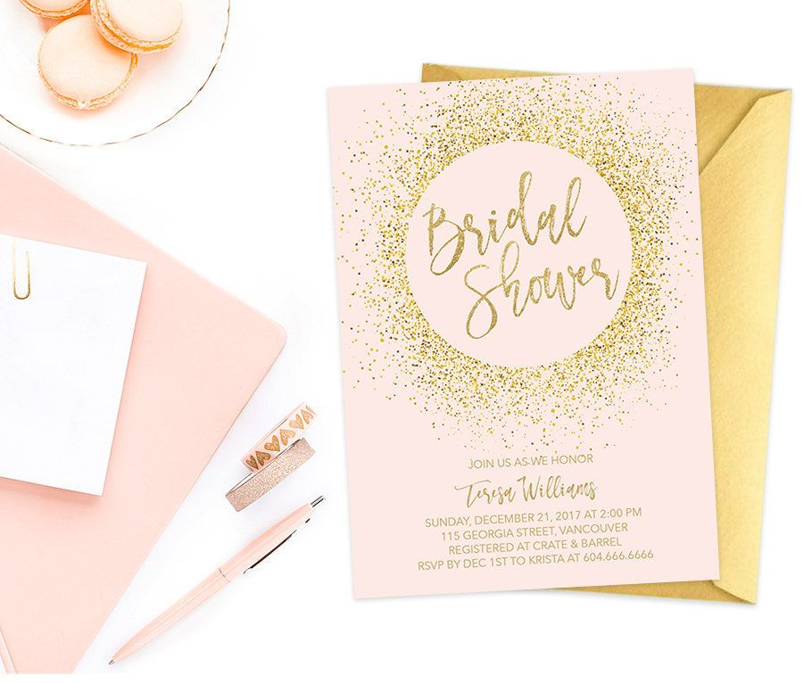 12 Beautiful Bridal Shower Ideas from Etsy | Bridal showers ...