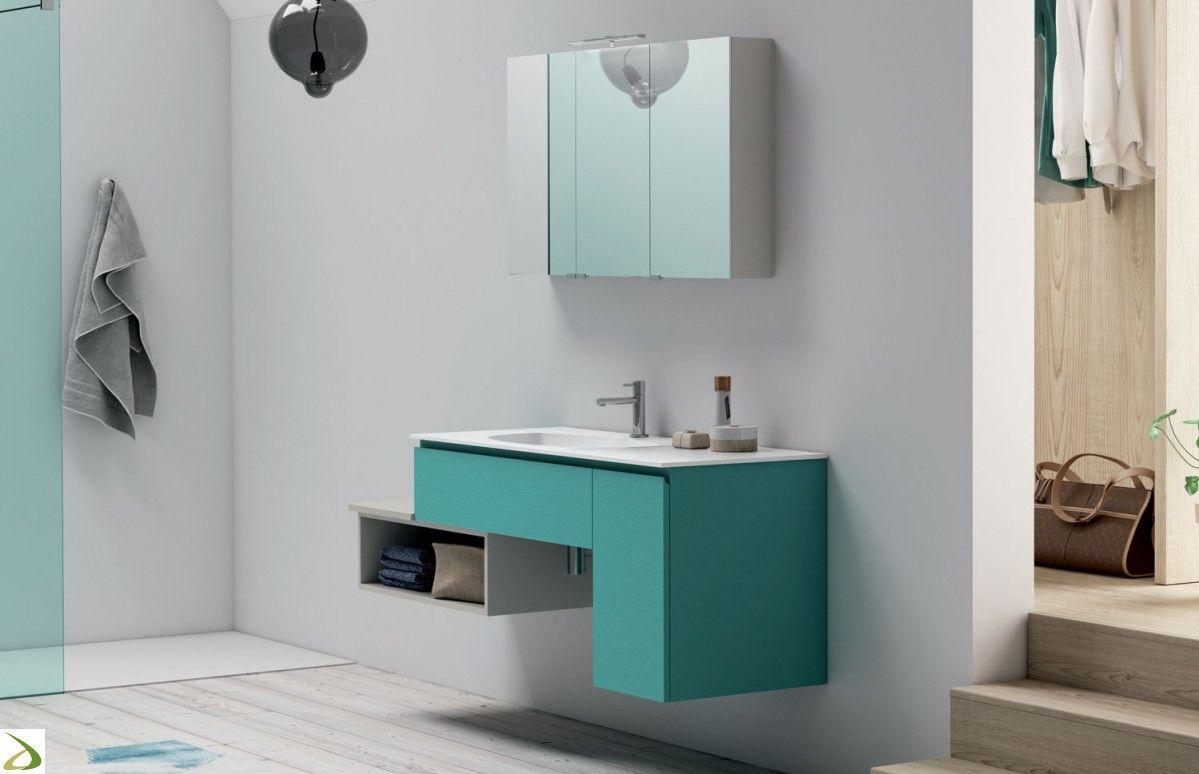 Mobile bagno sospeso di design Iperico Arredo Design