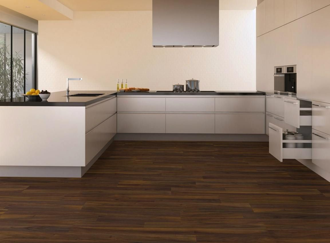 images of tiled kitchen floors | Affordable Laminate Walnut Tile ...