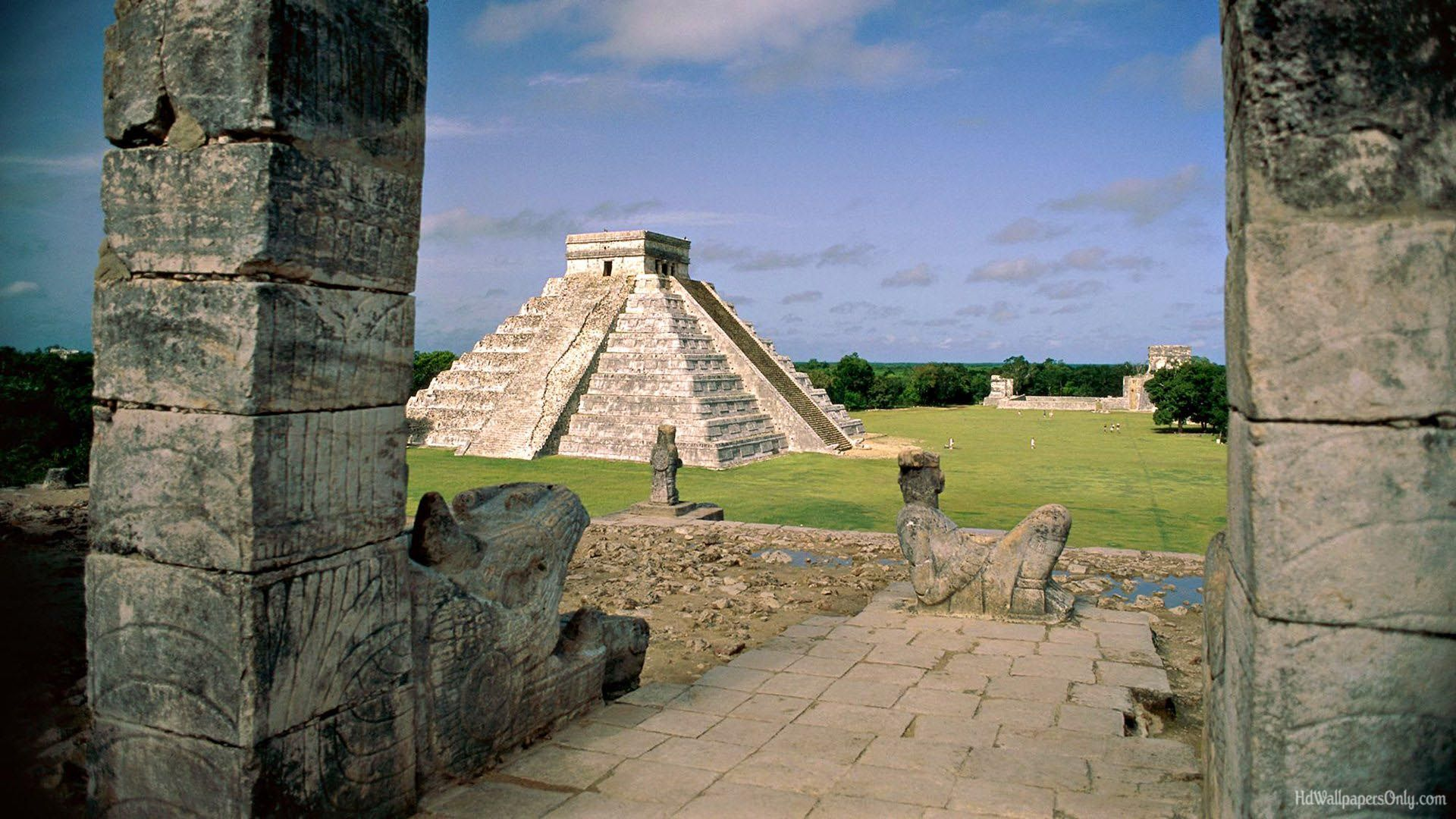 wallpapers of mexico 1920x1080 Chichen itza, Wonders of