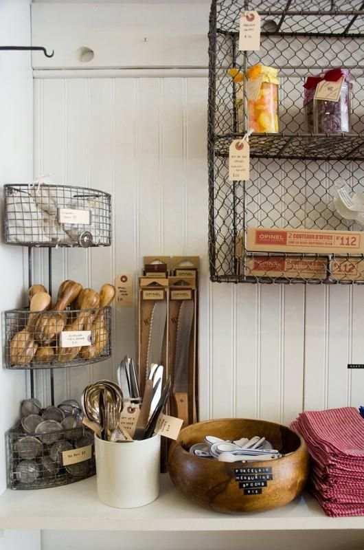 Shopgirl Visits Brook Farm General Store In Brooklyn Wire Basket Shelves Farmhouse Style Diy General Store