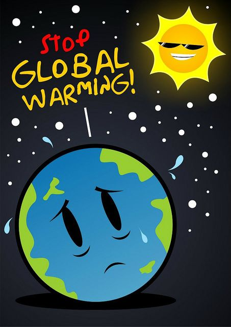 Gambar Poster Global Warming : gambar, poster, global, warming, Invonesia