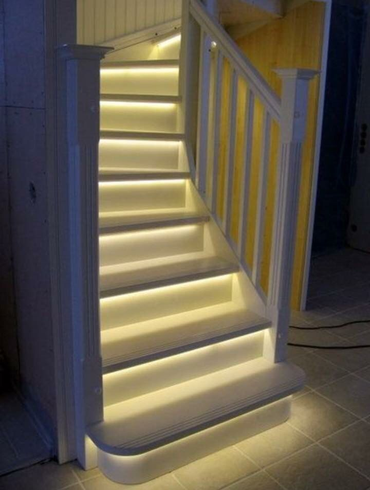 led lights under stairs lighting72 stairs