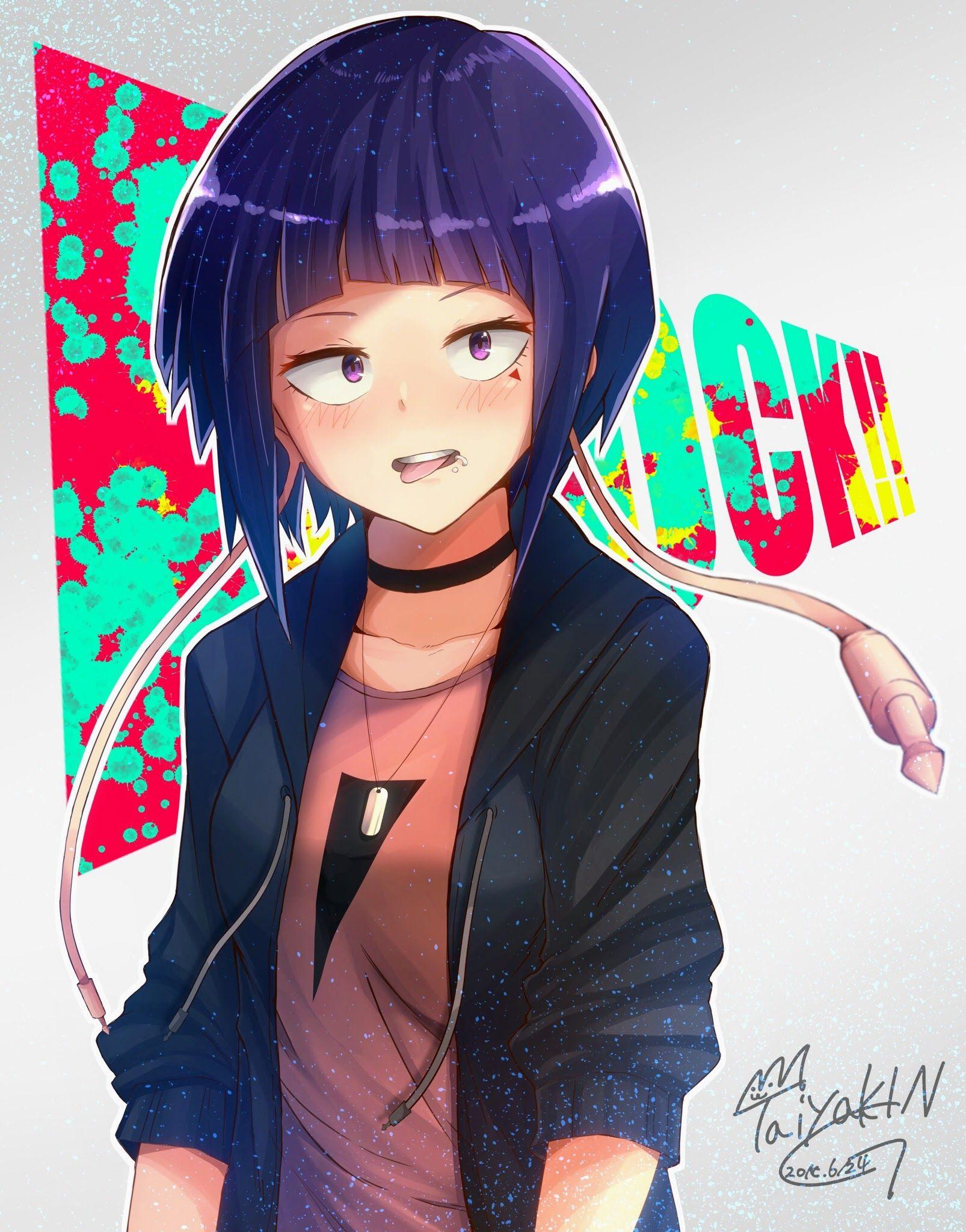 Kyoka Jiro My Hero Academia Fanart Manga Anime Animegirl Gg Hero My Hero My Hero Academia