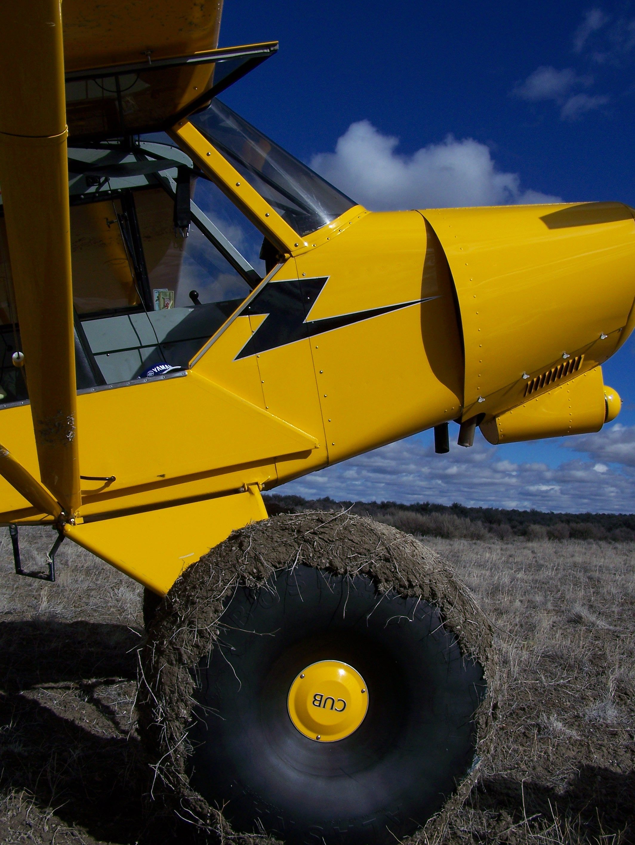 That S Not A Tire This Is A Tire Bush Plane