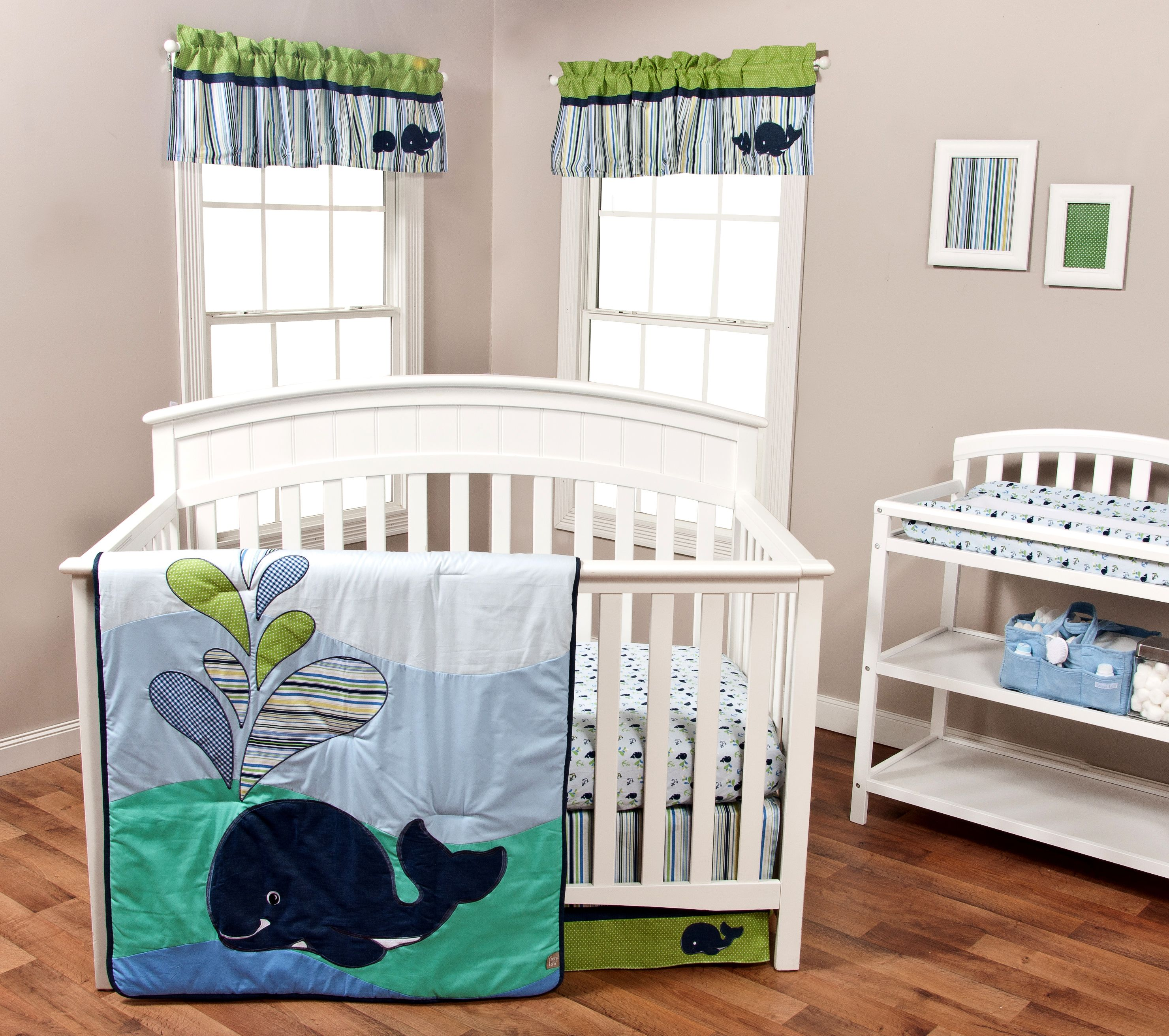 for grey aqua and nursery theme bedding with sheets nautical fabrics pin crib cribs a navy white