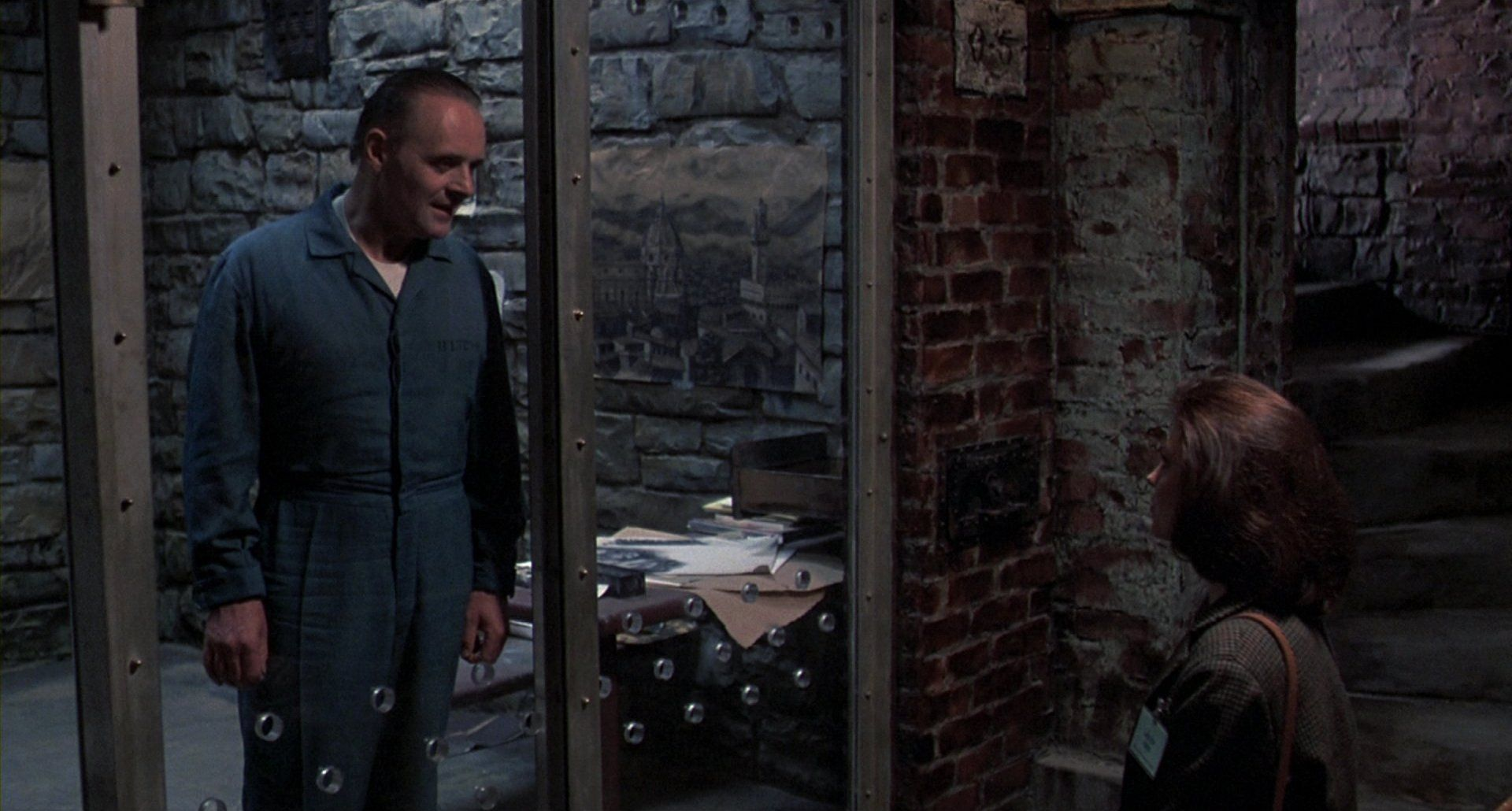 Silence Of The Lambs Clarice Starling Hannibal Lecter Has - Silence of the lambs basement
