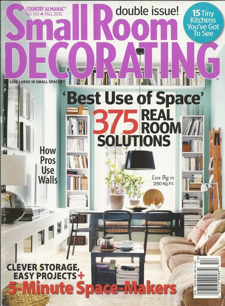 Small Room Decorating magazine Real rooms Storage Easy projects ...