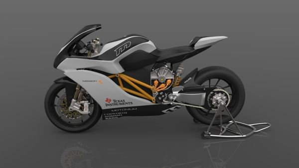 3D Mission R Super Bike Modelling by Ayan Chakraborty, via Behance