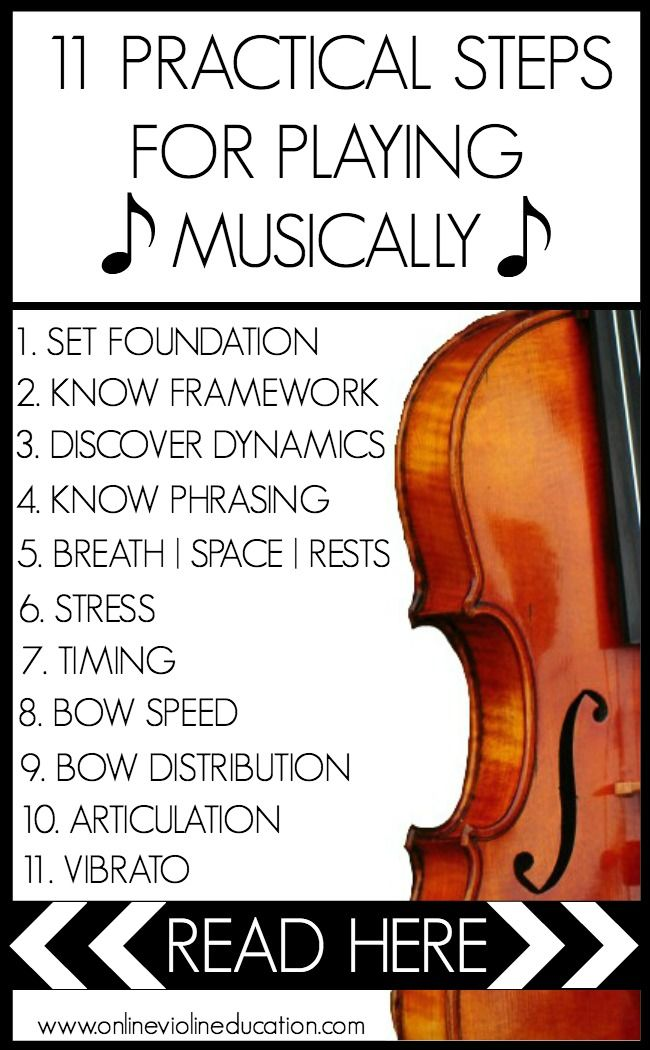 11 Practical Steps for Playing Musically