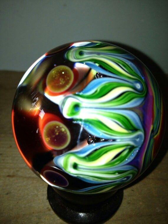 Green Air Trap Marble