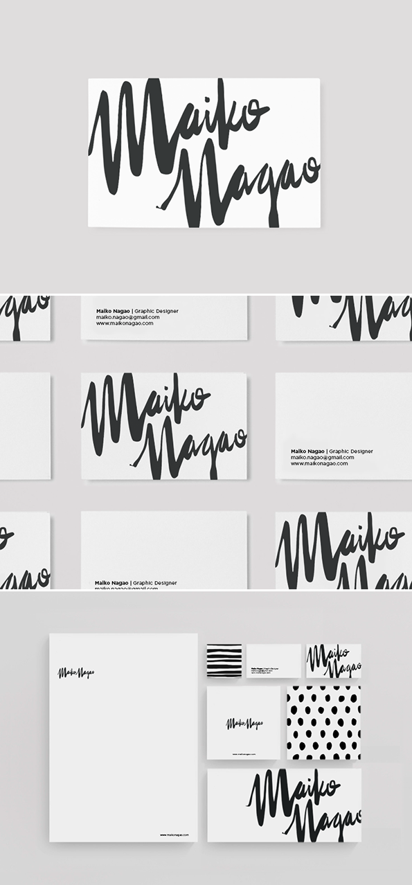 Stationery Design And Branding By Maiko Nagao Graphic