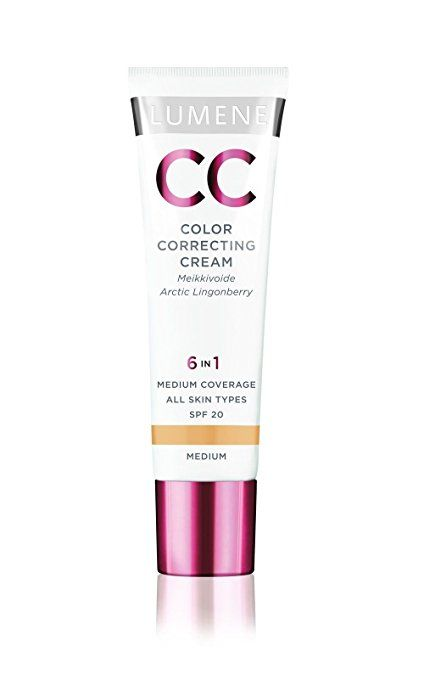 10aa7ba09f0 LUMENE CC Color Correcting Cream 6-in-1 SPF 20 Medium 30 ml | Skin ...