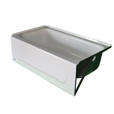 Bootz Industries Kona 4 1 2 Ft Bathtub With Left Hand