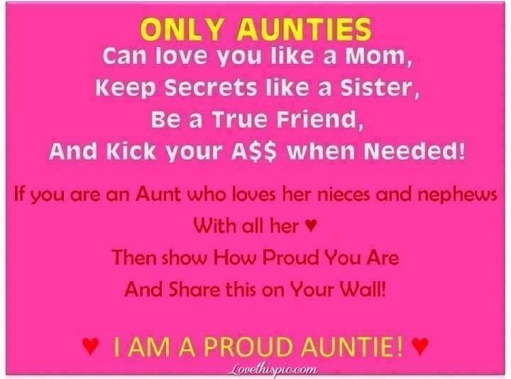 Only Aunties quotes quote family quote family quotes aunt ...
