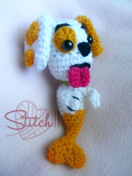 Bubble Guppy Puppy | crochet toys | Pinterest | Amigurumi, Amigurumi ...