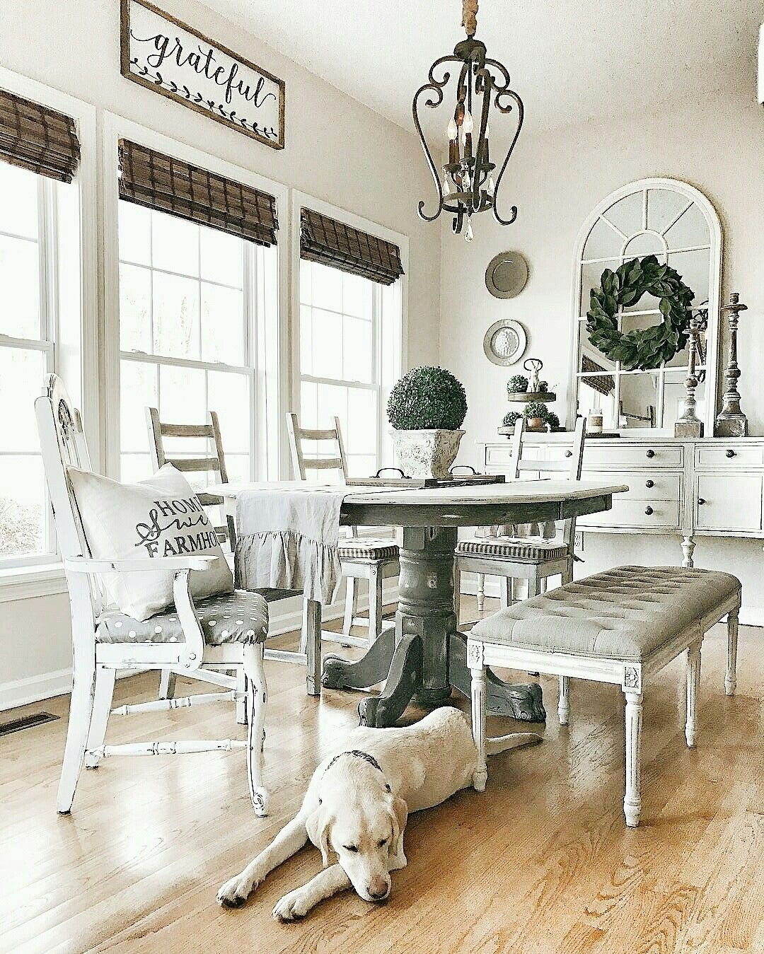 Joanna Gaines Farmhouse Dining Room Farmhouse Signs Rustic Signs Fixer Upper Style Home