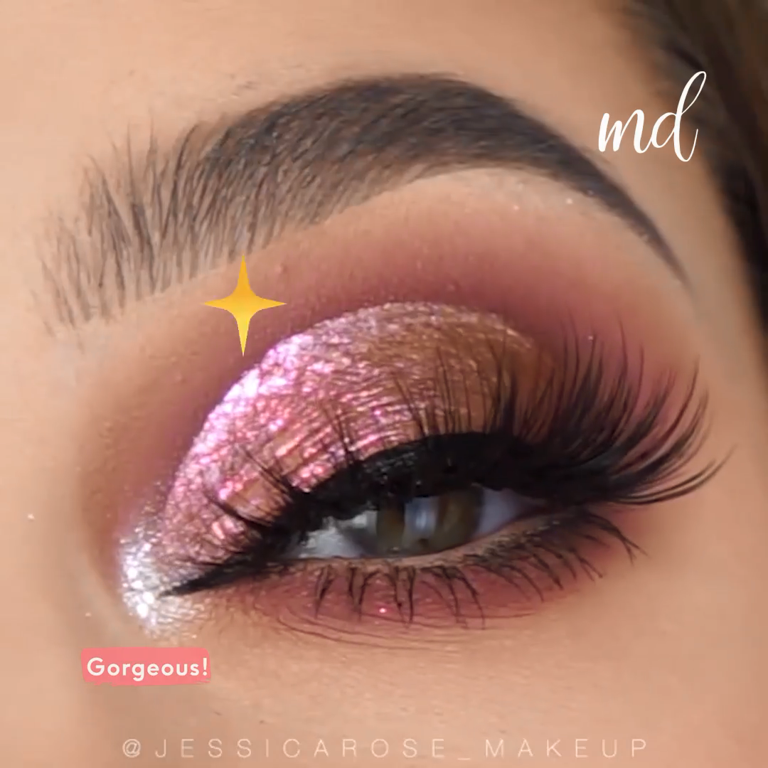 ROSE GOLD EYE LOOK