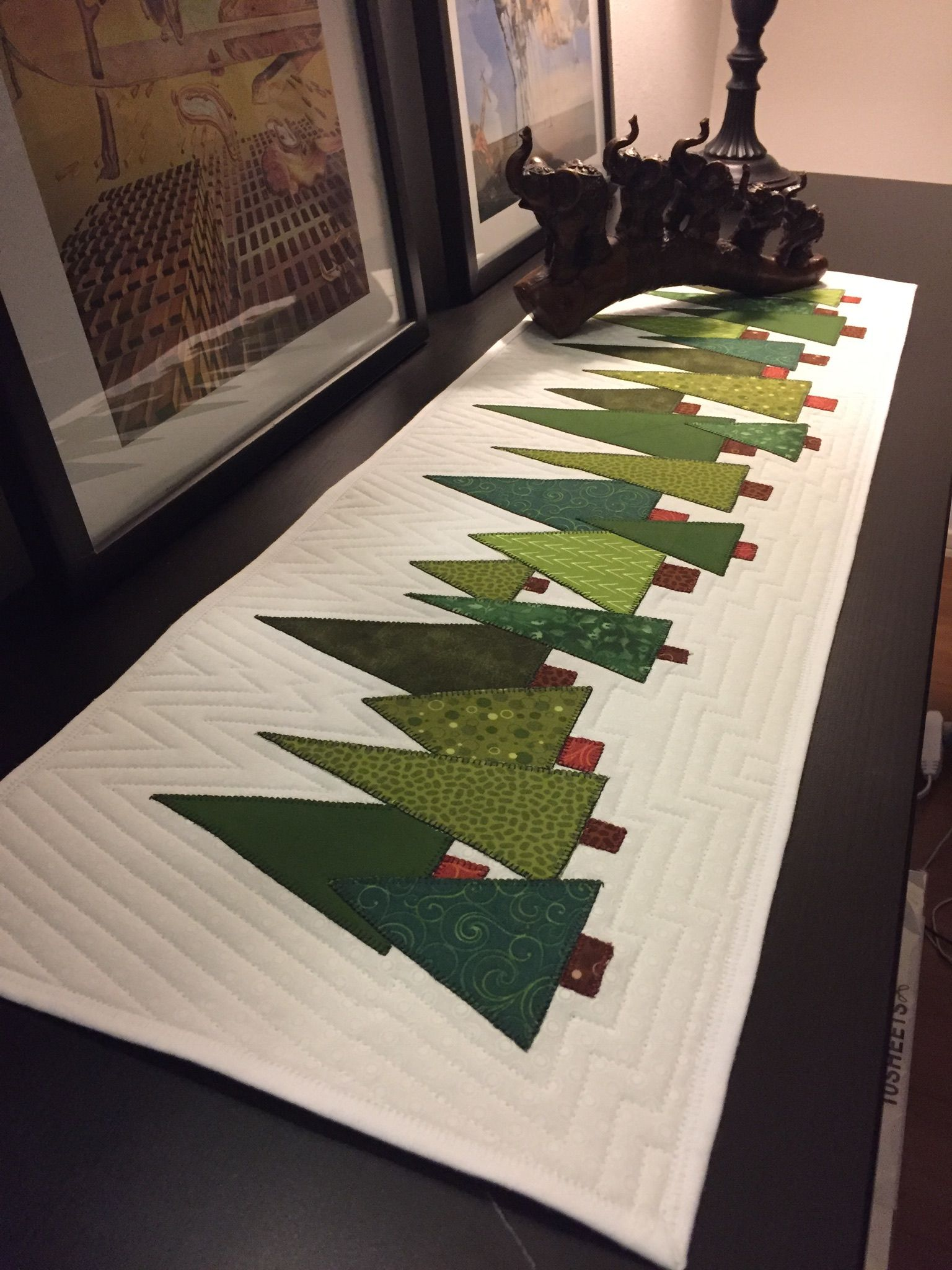 Pinterest Inspired Xmas Christmas Runner Christmas