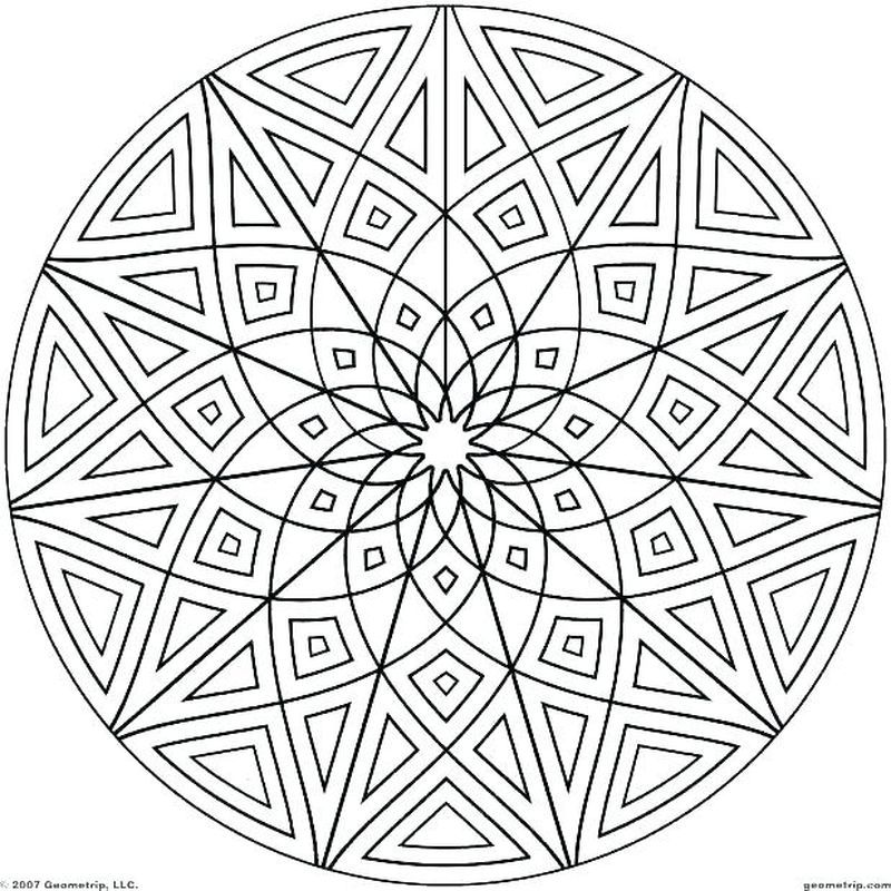 Printable Geometric Coloring Pages Geometric Patterns Coloring Geometric Coloring Pages Pattern Coloring Pages