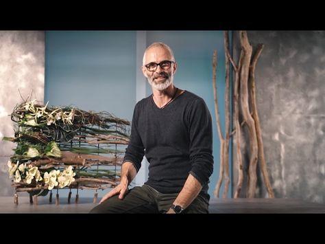 DIY Floral Living: Klaus Wagener stellt die Idee für ein dauerhaftes Werkstück vor - YouTube