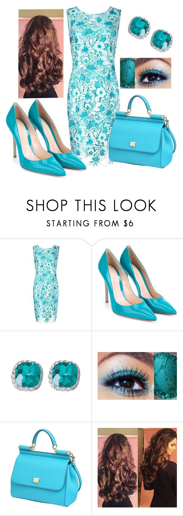 """""""Untitled #311"""" by sylvia-tall ❤ liked on Polyvore featuring Precis Petite, Gianvito Rossi and Dolce&Gabbana"""