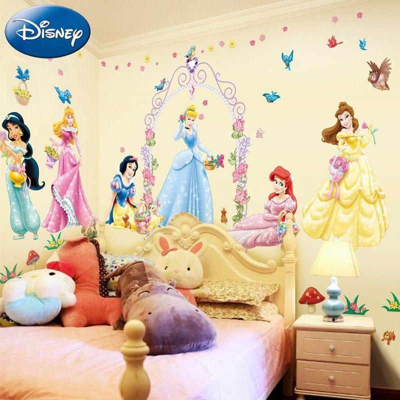 Disney Princess Wall Decals Disney Room Decor Disney Princess