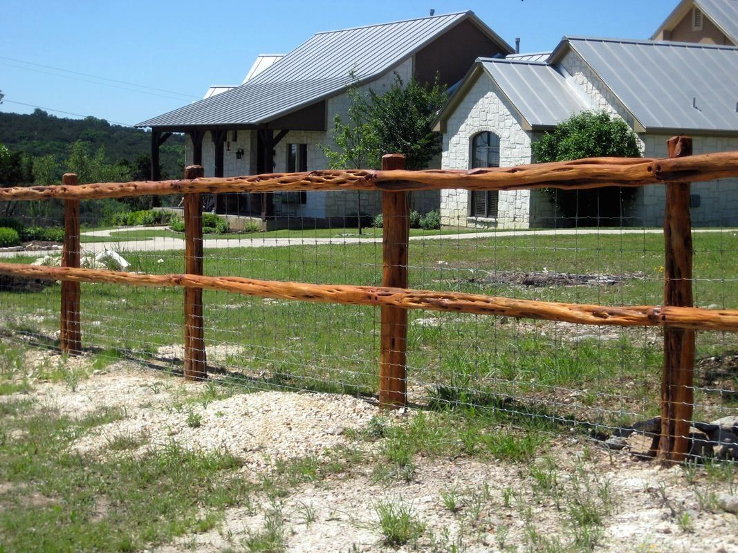 Fences of Texas   Boerne Wooden Rail Fences   Moeller ...