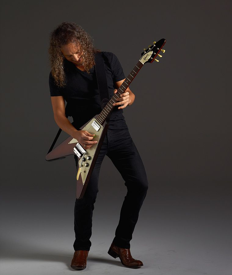 Pin By Leon Bruinink On Musicians I Admire Love Kirk Hammett Metallica Gibson Flying V