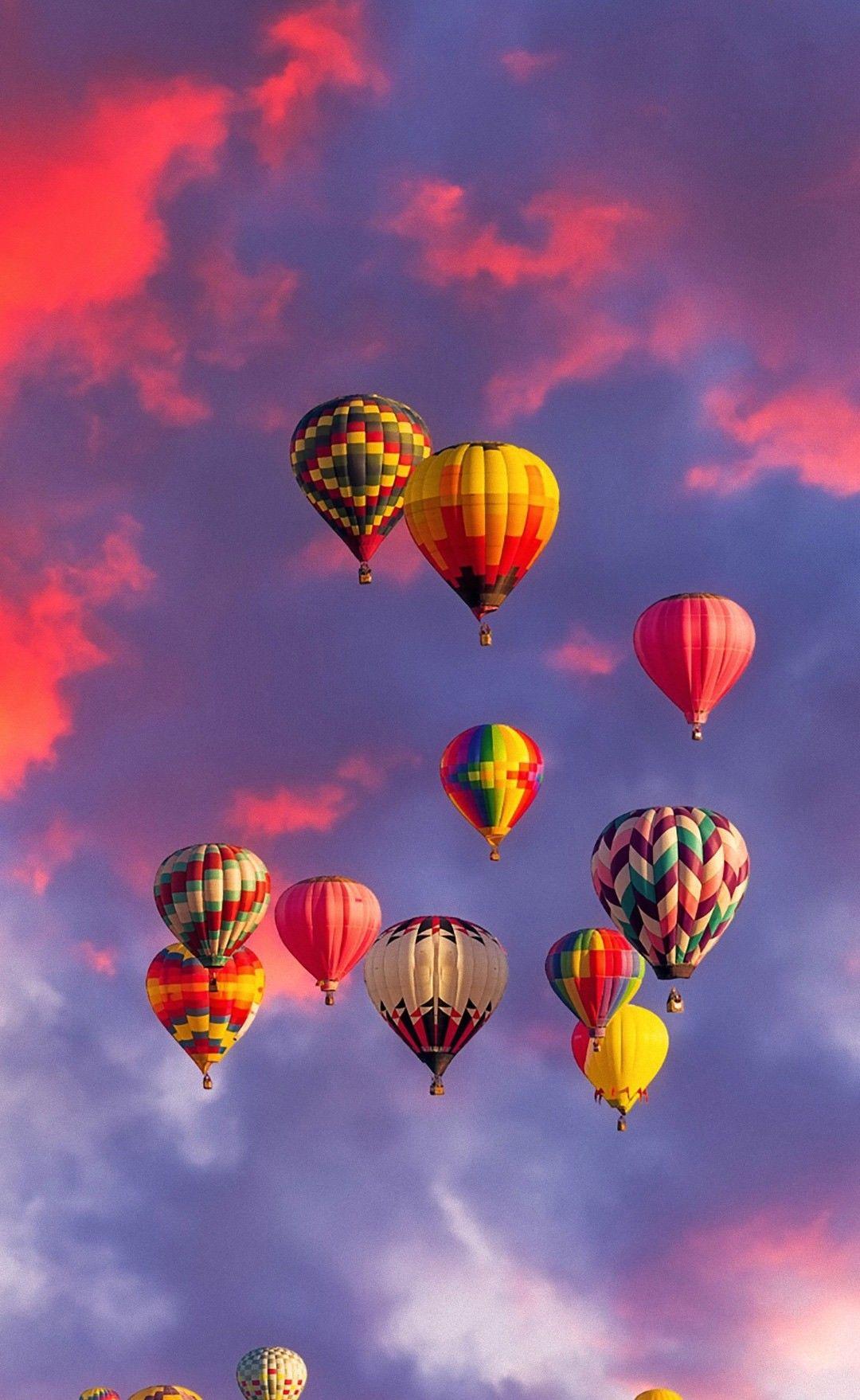 Balloon Fiesta in Albuquerque, New Mexico in 2020 Air
