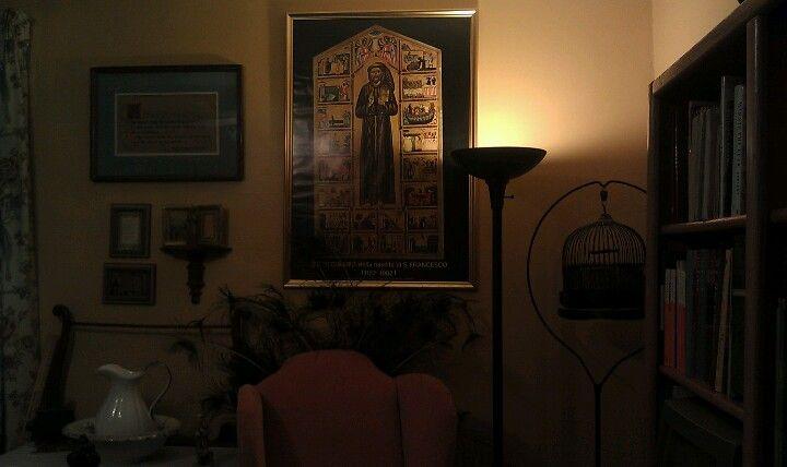 Light on Saint Francis