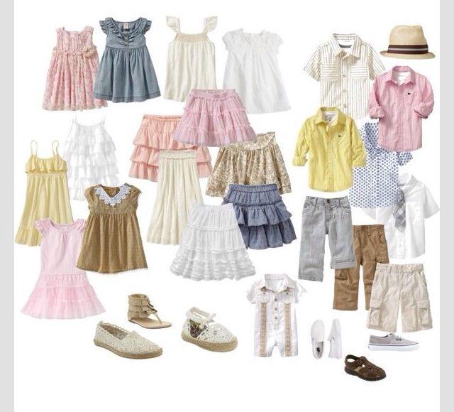 a4955ccf176 Perfect for spring summer family photo shoot. Outfit ideas.