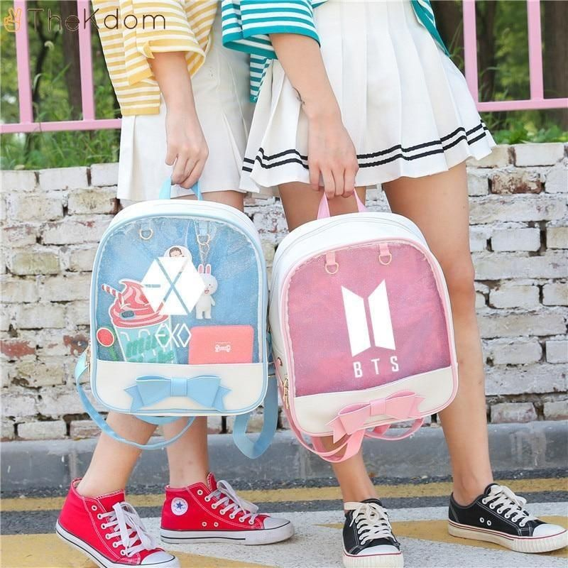 Bts Exo Blackpink Twice Got7 Cute Backpacks Cute Backpacks Bags Bts Backpack