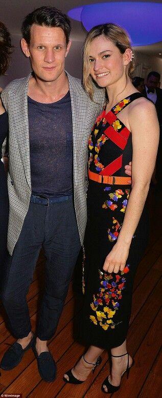 Matt Smith & Lily James ♡
