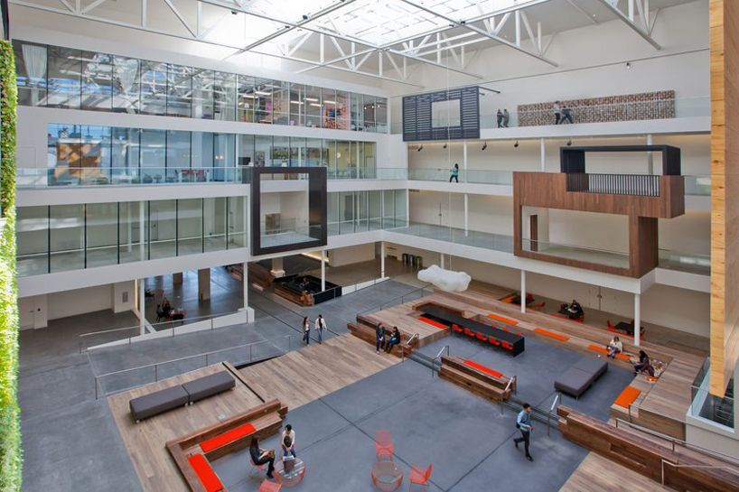 Airbnb S 170 000 Sq Ft Headquarters In San Francisco Lobby Hall