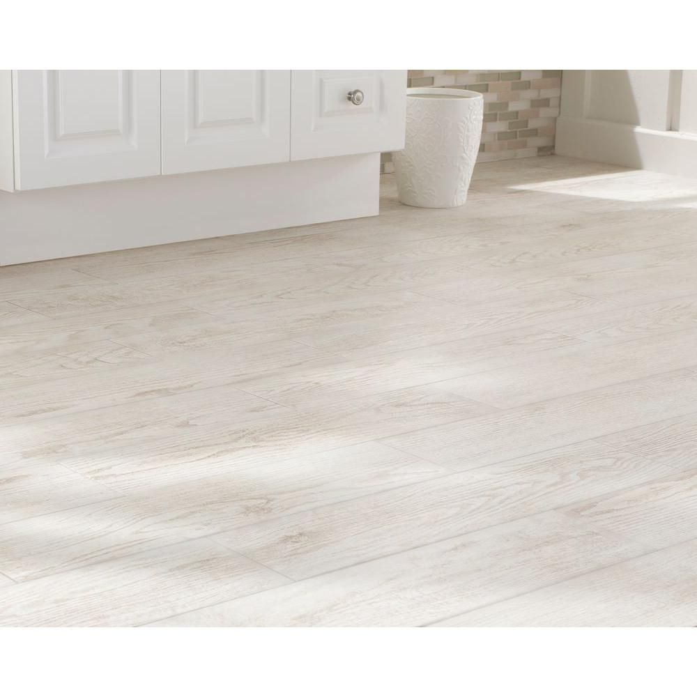 Home Depot Tiles For Bathrooms: MARAZZI Montagna White Wash 6 In. X 24 In Glazed Porcelain